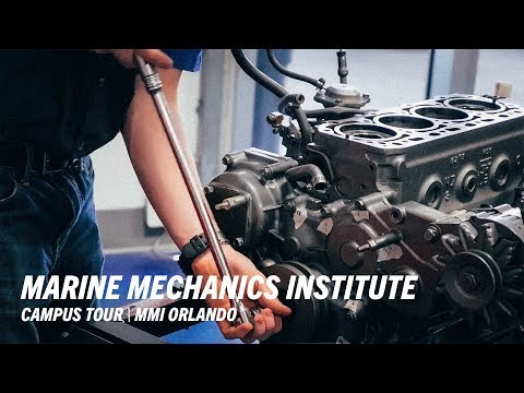 Marine Lab Tour, MMI Orlando - Marine Mechanics Institute