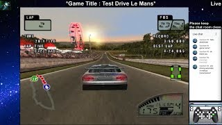 Test Drive Le Mans - Normal Difficulty - PS2 - Live Stream #1 ( ZERO )