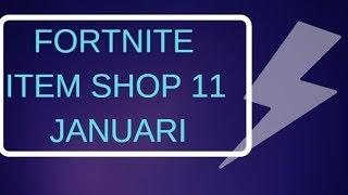 🔴FORTNITE ITEM SHOP 11 January
