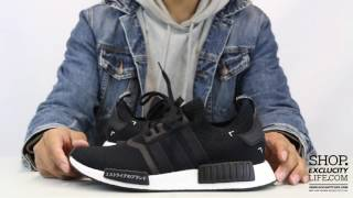 Adidas NMD PK Runner Black   White Unboxing Video at Exclucity