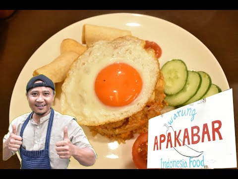 "Authentic Indonesian Asian Cuisine in Osaka ""APA KABAR"""