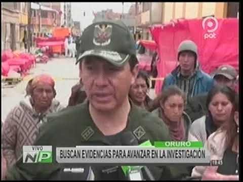 Segunda explosión en Oruro, se trataria de la Red de Gas Domiciliario
