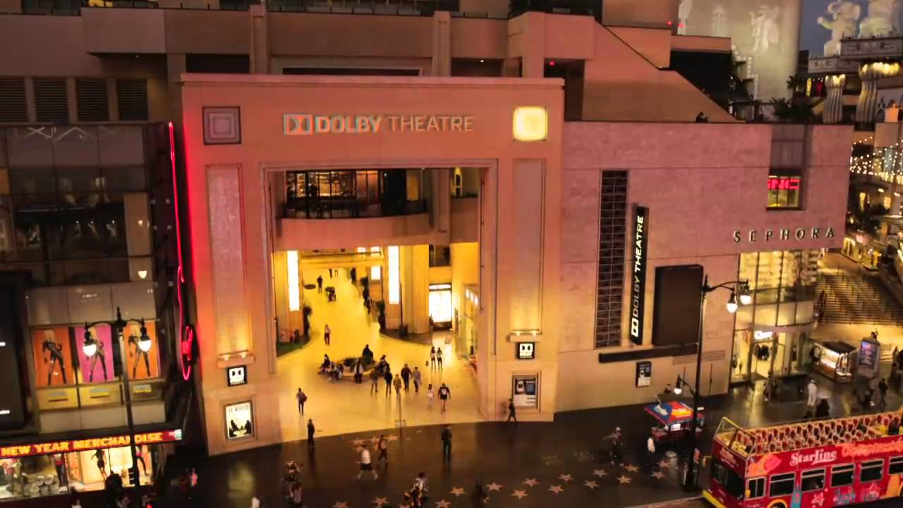 Dolby Theatre Oscars 2016 B Roll Youtube