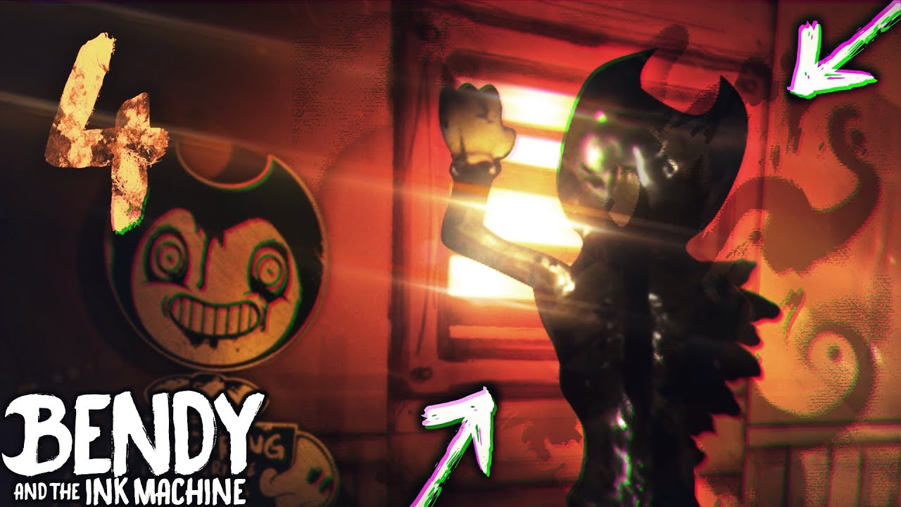 HACKING BEHIND BENDY JUMPSCARE!! CHAPTER 4 | Bendy and the ...