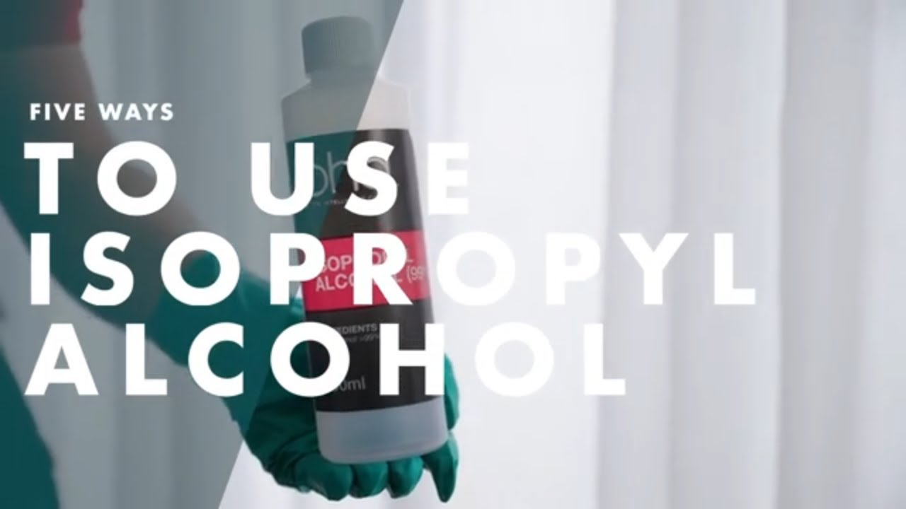 5 Ways To Use Isopropyl Alcohol   Bunnings Warehouse