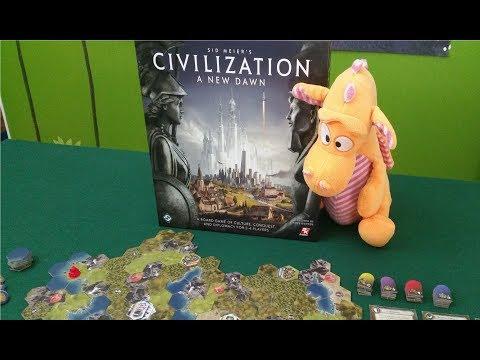 Sid Meier's Civilization: A New Dawn - Gameplay Runthrough - Part 1