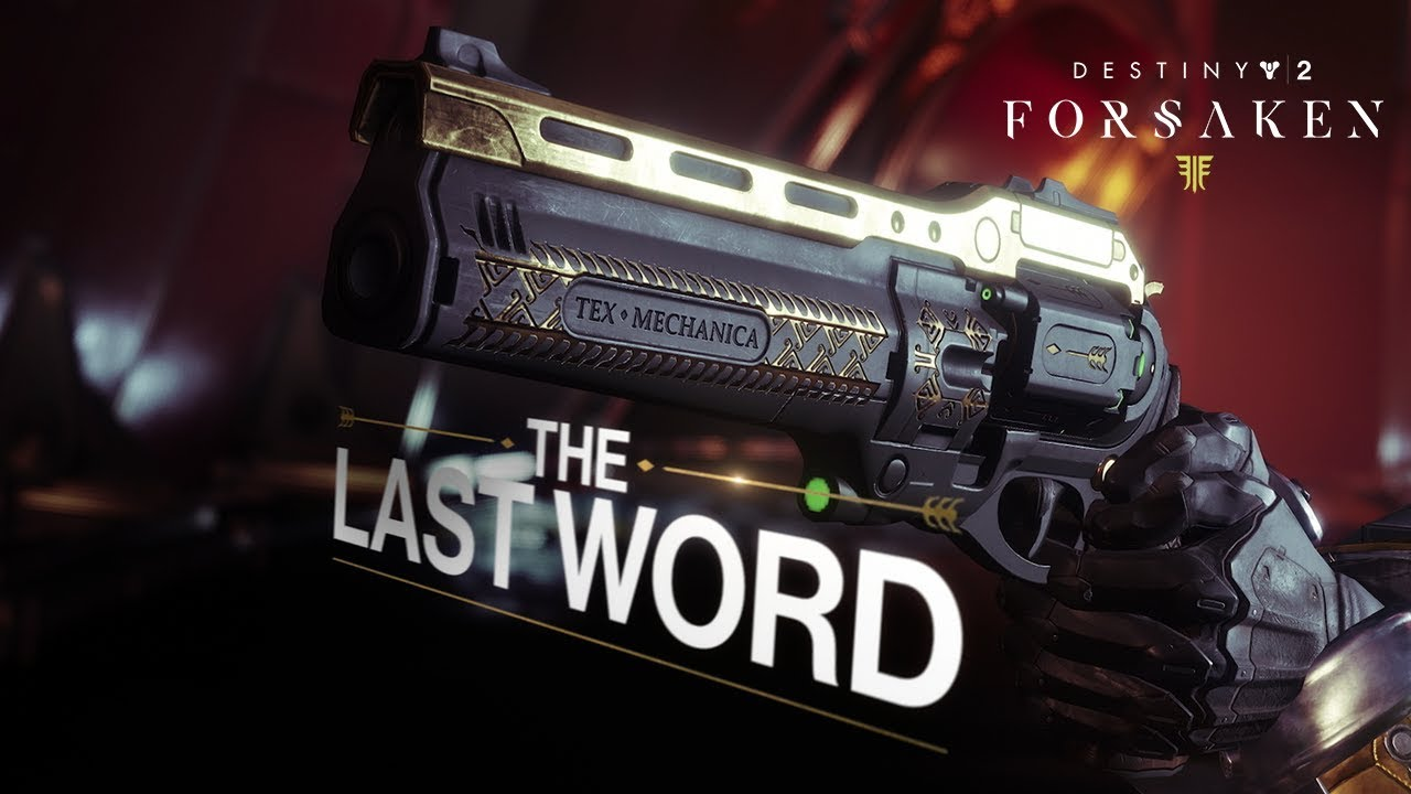 Destiny 2: How-to Get The Last Word (Black Armory) – Quest
