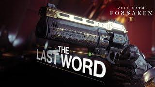 Destiny 2: Forsaken Annual Pass - Last Word Trailer
