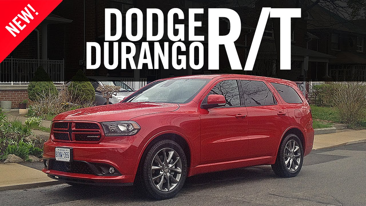 2014 Dodge Durango RT Review - YouTube