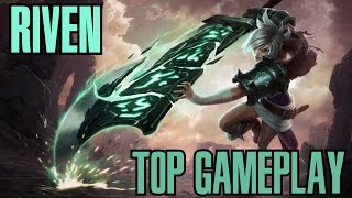 League of Legends - Riven Top Gameplay - WHEPA MEFENICS [PT-BR]