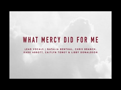 What Mercy Did For Me | At The Cross | IBC LIVE 2018