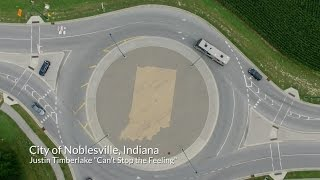 "City of Noblesville Justin Timberlake ""Cant Stop the Feeling"" Music Video"