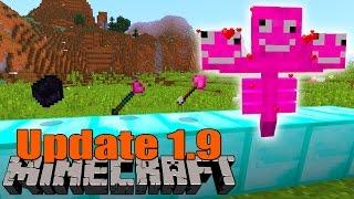 Liebesupdate in Minecraft! Neue Features! - Minecraft 1.9 Update - Snapshot 15w14a