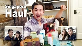 Singapore Haul with Rachel Hoe and Victoria Cheng
