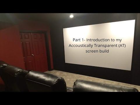 Introducing My DIY Home Theater Build (Part 1)