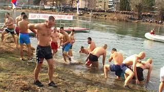 Bogojavljenje  -  Plivanje za casni krst Prijepolje 2018.