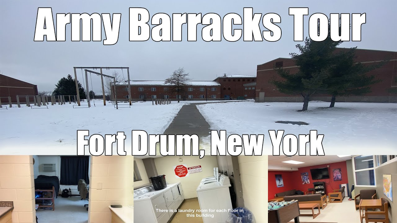 Download US Army Barracks Tour - Fort Drum NY 2021