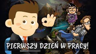 """Shakes & Fidget [W23] #7 """"PIERWSZY DZIEŃ W PRACY"""""""