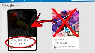 ASI SERA JAILBREAK in 2019!! [SECRET] Roblox