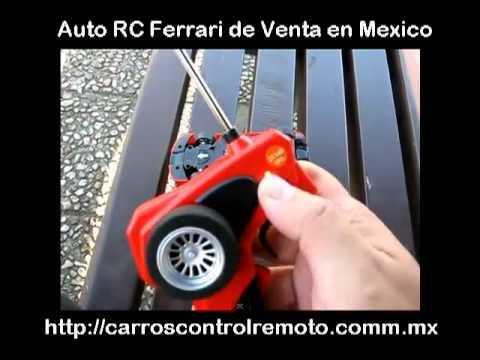 carro rc ferrari scuderia de venta en mexico youtube. Black Bedroom Furniture Sets. Home Design Ideas