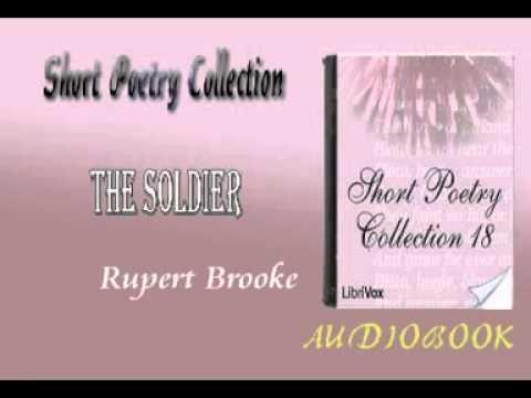 The Soldier Rupert Brooke book Short Poetry