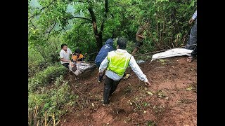 Raigad bus accident: NDRF team recovers 14 bodies, rescue operation underway
