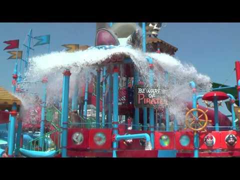 "Antibes Aquasplash ""SHARK HOUSE"" Attraction Marineland Aqualand France"