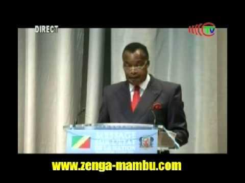 Sassou Nguesso: Message à la nation août 2015