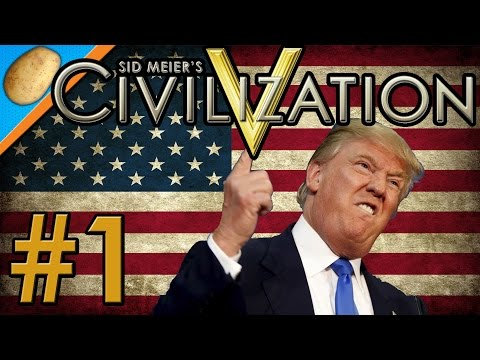 Civilzation 5 - Make America Great Again! - PART #1