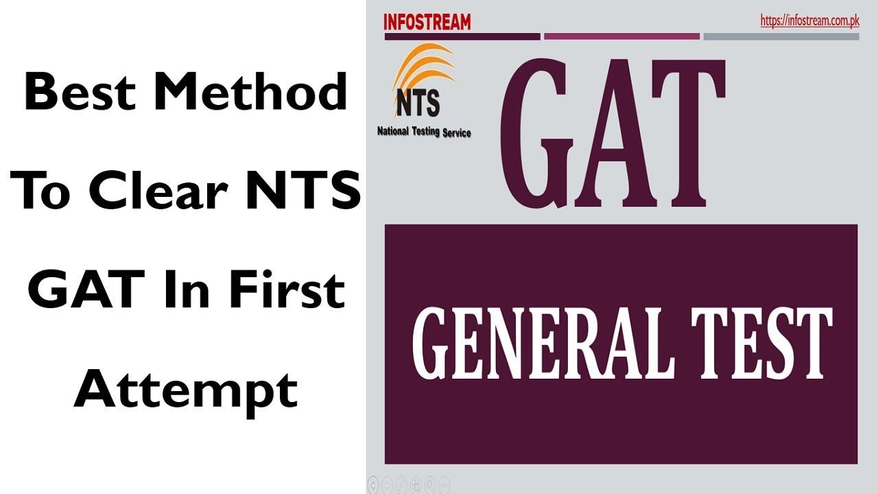 Clear NTS GAT Test in 1st Attempt - INFOSTREAM
