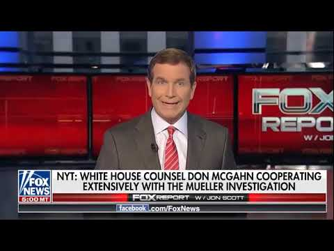 NYT: White House counsel Don McGahn Cooperating Extensively Counsel Don Mcgahn coopegation