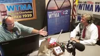 Charlie James speaks with Geraldo Rivera