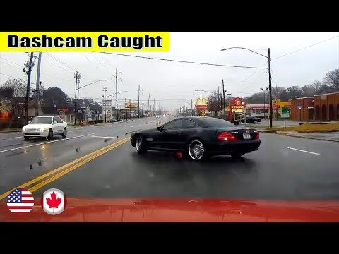 Ultimate North American Cars Driving Fails Compilation - 46 [Dash Cam Caught Video]