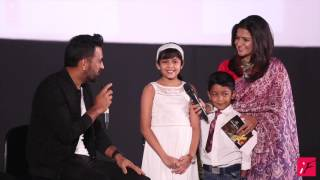 Suriya's kids have A QUESTION for MS Dhoni!!