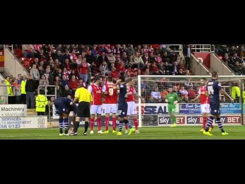 Rotherham. Vs leeds United 2014