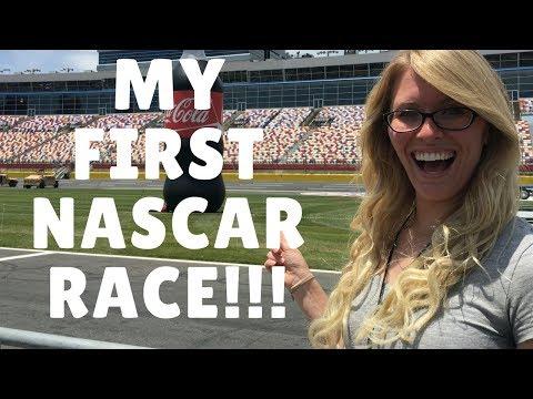 MY FIRST NASCAR RACE: Coca-Cola 600