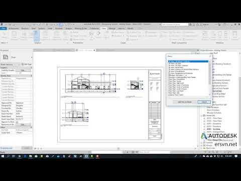 Hướng dẫn sử dụng Revit Architecture 2019   Bài 86: Tạo bản vẽ (sheet)