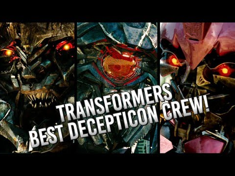 transformers best decepticons in the transformers movie franchise decepticon crew youtube. Black Bedroom Furniture Sets. Home Design Ideas