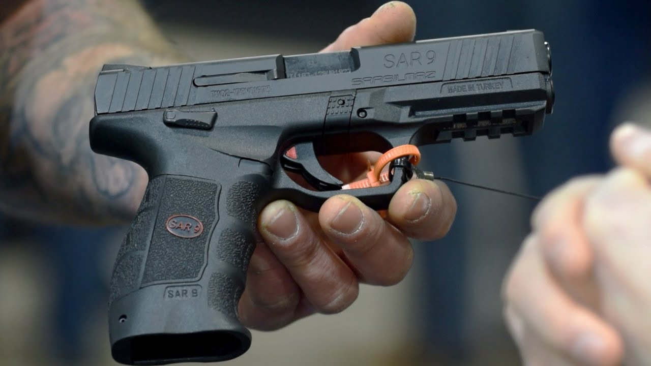 SAR9 New 9mm Pistol from SAR USA