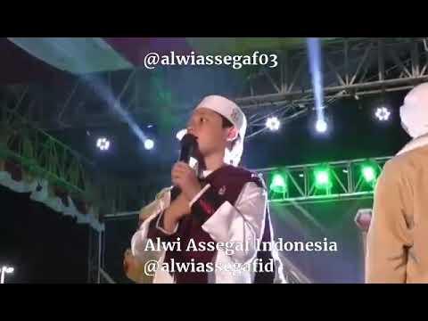 Alwi Assegaf, Gus Azmi dan Hafidz Ahkam di Milad Majelis Nurul Musthofa MONAS 17 Februari 2018