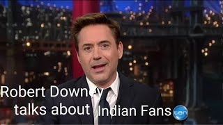 Robert DowneyJr talks about Indian Culture | Rdj's experience in India | #robertdowneyjrofficial