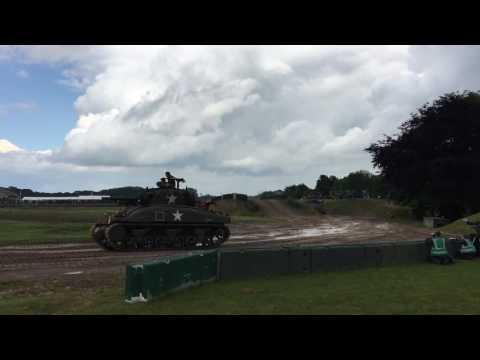 American Tanks WW2