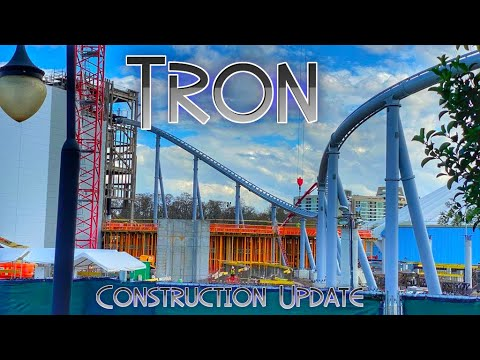 Magic Kingdom Construction Update February 2020 TRON