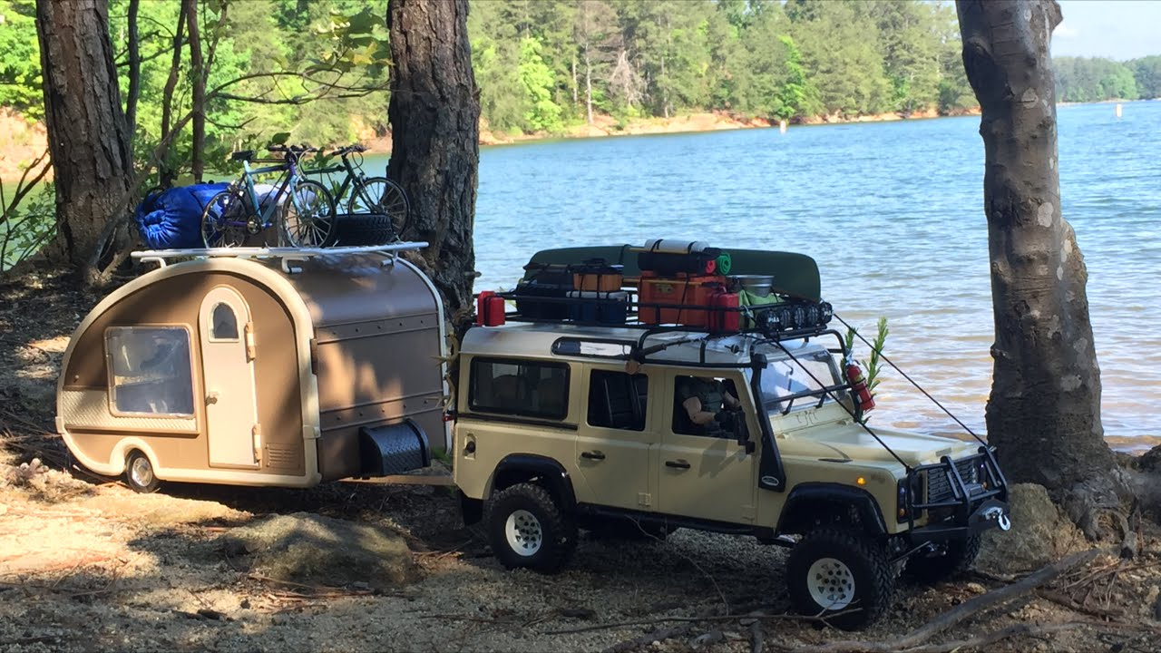 ***Scale RC Land Rover Defender 110 w/ Camper***Tybo's RC ...
