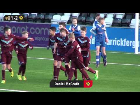 Carnmoney FDC v Bangor Rangers - Under 14s Third Division Supp Cup Final - 2nd January 2017