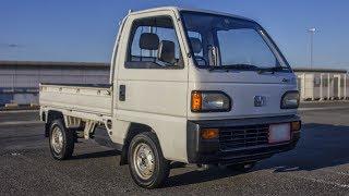 1991 Honda Acty Truck - Walk-Around and Test Drive