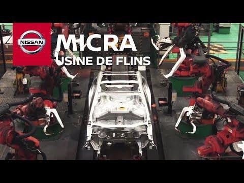 Nissan MICRA Fabriquée à Flins - La Vidéo Qui Fait Du Bien !