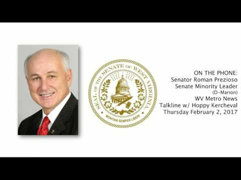 WV Senate - Senator Roman Prezioso on Governor Justice's Potential Budget Cuts