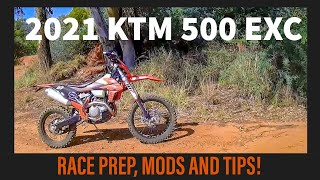 2021 KTM 500 EXC Race Prepared. All my mods, tips and tricks!