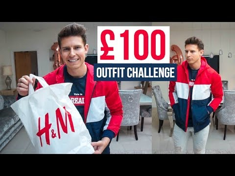 £100 H&M OUTFIT CHALLENGE